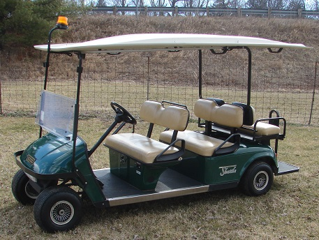 Green Limo Cart